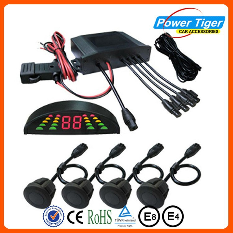 High quality With 4 Sensors wireless LCD Display Parking sensor