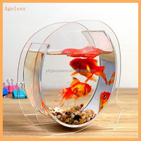 Wholesale clear glass fish tank/glass aquarium/glass fish bowl