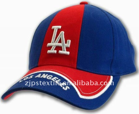 2011 EMBROIDERED LOGO LOS ANGELES CUSTOM COTTON BASEBALL CAP