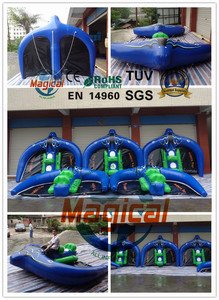 Mantaray Inflatable Watercraft Inflatable manta ray flying fish towable