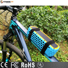 New 2017 waterproof Solar portable bluetooth speaker with 30 min. playing by solar charge in 10 minutes for cycling and outdoors