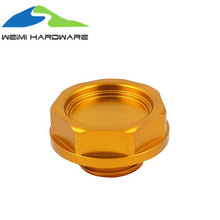 Customized high precision CNC Billet Engine Oil Filler Cap Cover