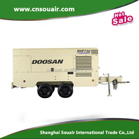 Doosan Ingersollrand NHP1500 Portable Oil-Free screw Air Compressor 1500CFM At150psi pressure WCU diesel engine USA Origin