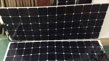 back contact sunpower cell 22% efficiency 180w transparent solar panel