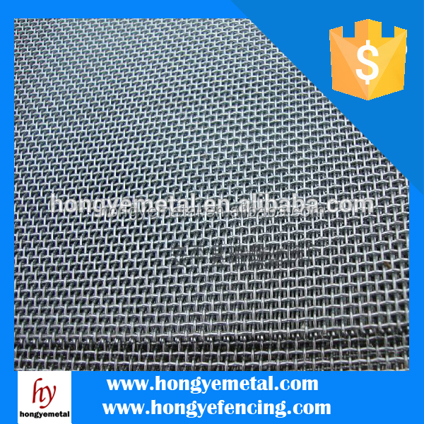 Electro Galvanized / Stainless Steel Crimped Wire Mesh / Barbecue Grill Mesh