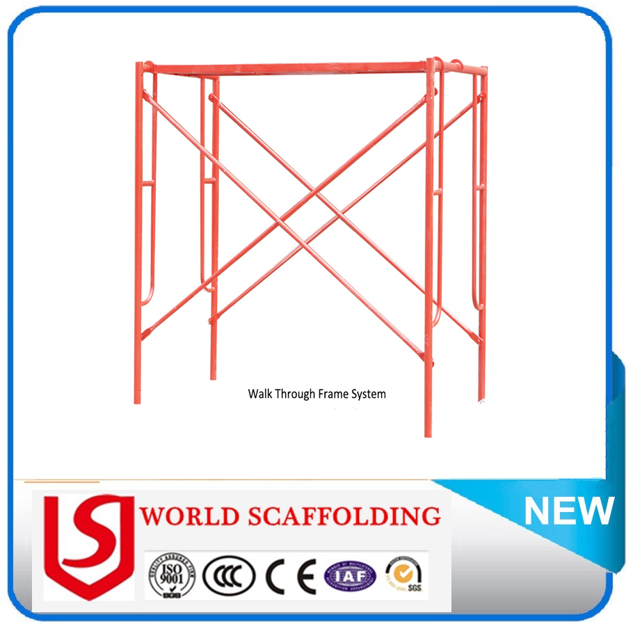Made In China Steel H Frame Scaffolding Diagonal Cross Brace