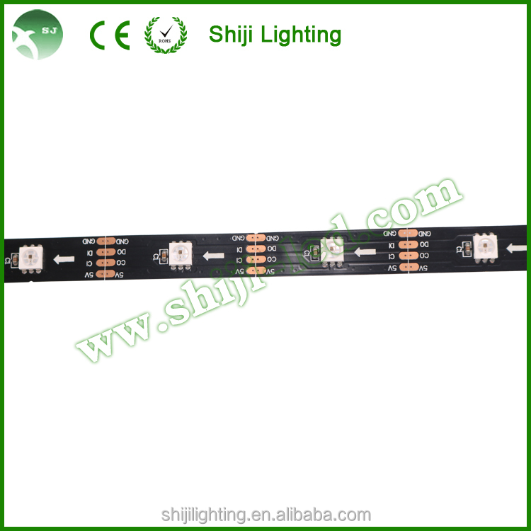 Digital RGB led strip ws2801 60 leds/m waterproof Dc5V
