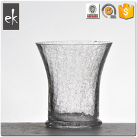 Fashion living dining room decorate crystal home decoglass vase