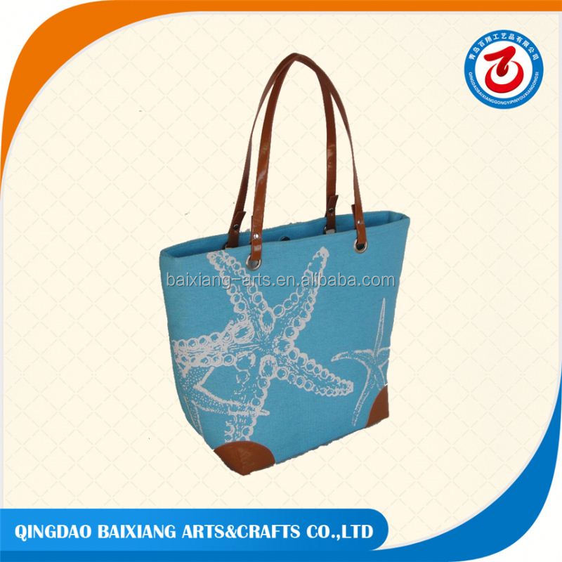 promotional waterproof beach tote bag