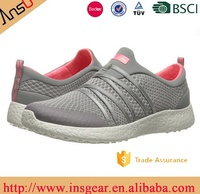 Plush Upper Material and no Lace-Up young Style air flex mesh casual shoes for cool men