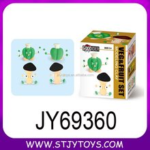 Child clay toy children cute green pepper mushroom model