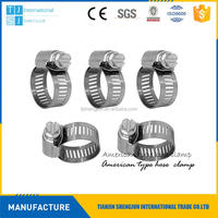 Multifunctional supply american collar hose clamp/clips made in China