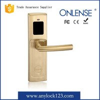 Hotel Door Lock RF ID Door Lock Security Electronic Key Card Locks For China