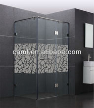 CAML pivot shower doors comfort room design shower screen pattern glass
