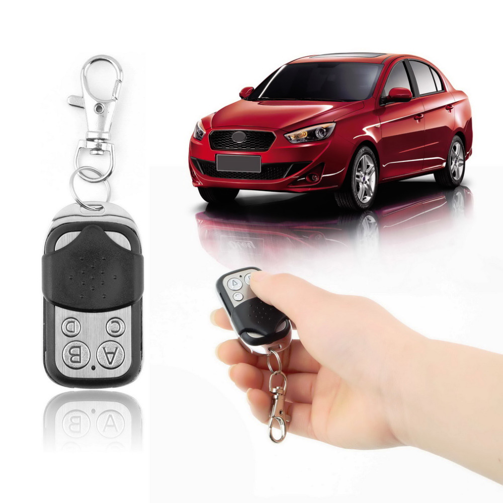 1pcs Hot Worldwide Gate Garage Electric Cloning Door Remote Control Fob 433mhz Key Fob Universal