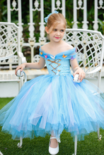 One piece Princess Girl <strong>Dress</strong> <strong>girl's</strong> Charming Double Layered Flower girl <strong>Dress</strong>