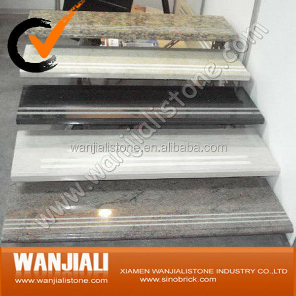cheap high quality modern marble stairs