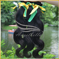Angelbella Factory Bottom Price 24 Inch Human Hair Weave Extension High Quality Brazilian Italian Weave Human Hair Extension