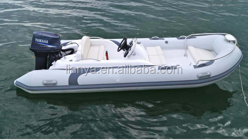 Liya 4.3m speed rib fishing boat with outboard for sale