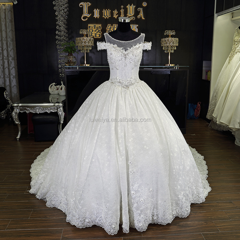 Heavy beaded superb wedding dress bridal gown turkey buy for Heavy beaded wedding dresses