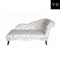 2016 French antique style wedding love seat sofa