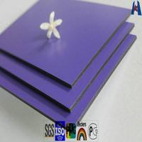 4mm outdoor wall cladding PVDF aluminum composite panel ACP