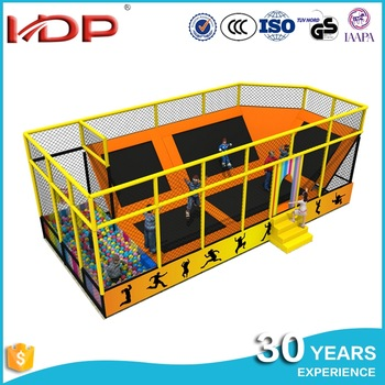 Customized colorful indoor trampoline park, castle trampoline tent, gym mini rectangle trampoline