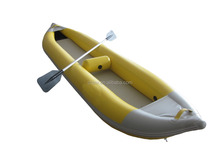 pvc inflatable canoe and foldable air kayak