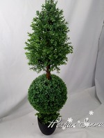 garden ornaments Chinese new design artificial topiary tree plastic boxwood tree with cheap price