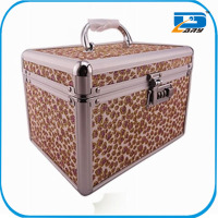 Sealed aluminum personalized wholesaler makeup case