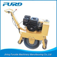 Industrial Roller Compactor With Excavator Bucket