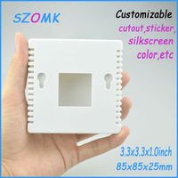 85x85x25 mm GUANGDONG temperature sensor enclosure