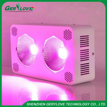 400w led cob grow light 2x200w full spectrum cob chip growing lamp for indoor plant