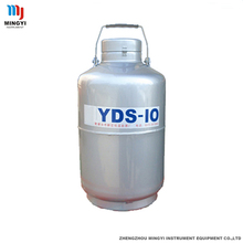 small liquid nitrogen tank 10l containeer for medical