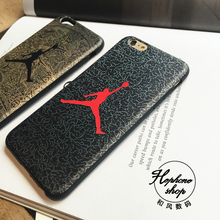 Stylish Cool Jordan Basketball Leather Case Cover For iPhone 6 6s 6 Plus 6s Plus