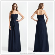 2015 fashion blue france strapless long evening dresses for veiled, evening dresses made in china