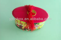 Cute new style candy tin box with lid tank