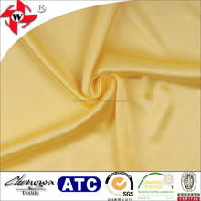50 denier full shiny lining fabric, 100 polyester dazzle jersey fashion cloth lining fabric