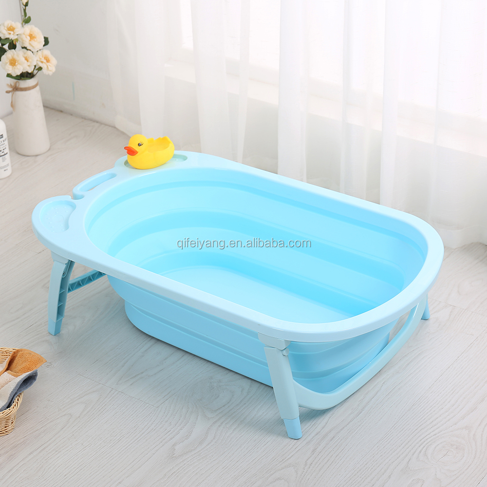 Factory Directly Sale Folding Portable Baby Bath Tub Standing ...