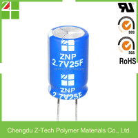25F 2.7V Super Capacitor super capacitor 2.7v500f ultra capacitor reasonable quality