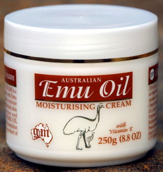 Australian Emu Oil Cream 250g Body Lotion hand face Vitamin E (G&M Cosmetics)