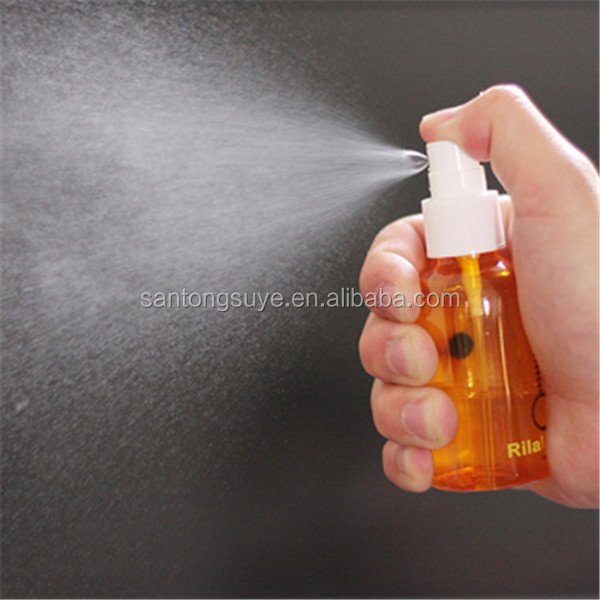 100ML PET perfume atomizer plastic spray perfume bottle in stock