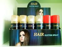 Low Voc US Standard Temporary Glitter Hair&body Spray