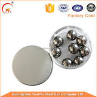 Mirror polished 12mm, 11mm, 10mm stainless steel ball
