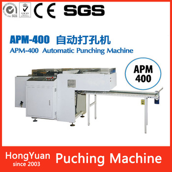 APM-400 Max.punching width 590mm hole drilling machine practical