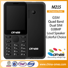 "2016 Latest China Factory supply directly mobile phone M215 2.4"" only be sold at 7 USD hot sales cell phone"