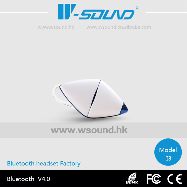 W-sound 2014 New Model I3 Mini Stereo Wireless Handsfree Bluetooth Mobile Phone Earphone