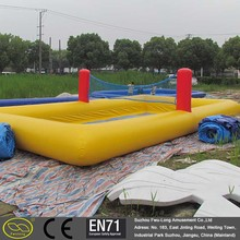 Large small water park inflatable indoor pool