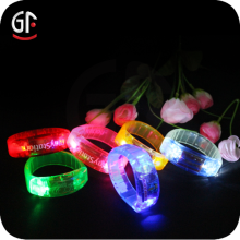 Christmas Decoration Led Sound Activated Flashing Bracelet