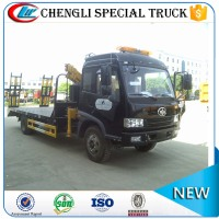 Hot sell FAW Jiefang 4x2 4X4 6 wheeler 10000 Liter Capacity 8 ton 10 ton Platform Lorry for Construction